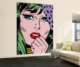 Tee Buzz True Romance Huge Wall Mural Art Print Poster Vægplakat i tapetform