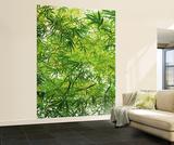 Papier peint feuilles de Bambou Papier peint