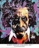 David Garibaldi (Albert Einstein, E=MC2) Art Poster Print Poster