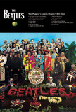 The Beatles (Sgt. Pepper&#39;s Lonely Hearts Club Band) 3-D Music Poster Lenticular Print Prints