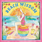 Beach Wisdom by Sandy Gingras - 2013 12-Month Calendar Calendars