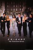 Friends Group Dressy TV Poster Print Print
