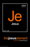The Jesus Element Je Perfect Chemistry Art Poster Print Prints