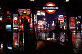London (At Night, 1967, Huge) Art Poster Print Posters