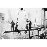 New York City (Men on Girder, Dinner Time) Art Poster Print Prints
