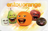 Annoying Orange Entourorange Poster Print Posters