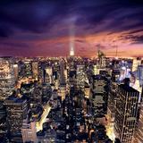 Big Apple after sunset, Manhattan, New York Print by Ilja Mašík
