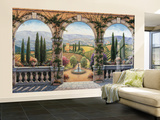 Tuscan Villa Wall Mural