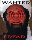 Wanted Dead Osama Bin Laden Art Print Poster Posters