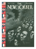 The New Yorker Cover - April 28, 1945 Giclee Print by Christina Malman