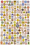 Signs of the Times (Road Signs) Art Poster Print Prints