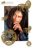 Bob Marley Lion Music Poster Print Photo