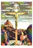 Jesus Christ (Ascension) Art Poster Print Posters
