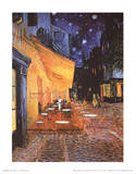 Vincent Van Gogh (Cafe Terrace at Night) Art Poster Print Masterprint