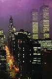 Geoffrey Clifford Purple Skies WTC Art Print Poster Plakater