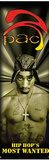 Tupac Shakur Hip Hop's Most Wanted Door Music Poster Print Print