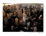 Manhattan New York City Art Print Poster Posters