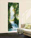Zaragoza Falls Waterfall Mural Wallpaper Mural