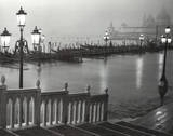 Venice (Grand Canal, B&amp;W) Art Poster Print Prints