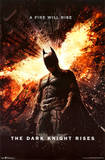 Dark Knight Rises One Sheet Movie Poster Print Poster