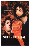 Supernatural (Jensen Ackles & Jared Padalecki) TV Poster Print Masterprint