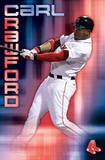 Boston Red Sox Carl Crawford Sport Poster Print Prints