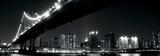 Manhattan Bridge at Night-New York Affiches par Joshua Haviv