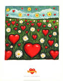 Scott Rhodes Field of Love Art Print Poster Masterprint