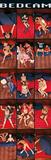 Bedcam Bed Scenes, Door Art Poster Print Prints