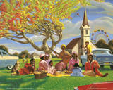 Sarah Jenkins (Sunday Picnic) Art Poster Print Photo