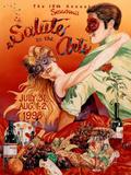 1998 Sonoma Salute to the Arts Art Print Poster Print