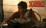 Scarface Movie (Counting Money) Poster Print Posters