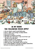 In My Room Rules Girls Poster Print Posters