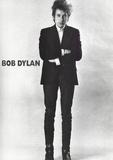 Bob Dylan Black and White Music Poster Foto