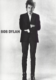 Bob Dylan Black and White Music Poster Photo