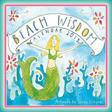 Beach Wisdom - 2013 12-Month Mini Calendar Calendars