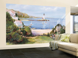 Lighthouse Cove Wallpaper Mural