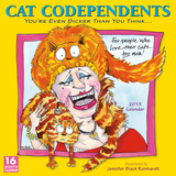 Cat Codependents - 2013 12-Month Calendar Calendarios