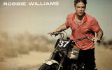 Robbie Williams (Bike) Music Poster Print Posters