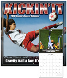 Kickin It: Women's Soccer  - 2013 12-Month Calendar Calendars