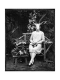 Adelaide Gazelling Giclee-tryk i høj kvalitet