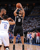 Oklahoma City, OK - June 2: Tony Parker Photographic Print by Andrew Bernstein