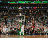 Boston, MA - June 3: Dwyane Wade Photographic Print by Jesse D. Garrabrant