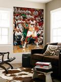Miami, FL - May 28: LeBron James and Rajon Rondo Wall Mural by Issac Baldizon