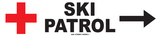 Ski Patrol Tin Sign