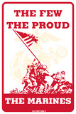 The Few the Proud the Marines Tin Sign