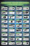 Gaming Choose Your Weapon Print