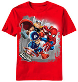 Youth: Marvel Super Hero Squad - Big 3 T-shirts