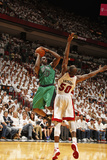 Miami, FL - May 28: Brandon Bass and Joel Anthony Photographic Print by Issac Baldizon