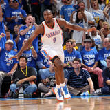 Oklahoma City, OK - June 2:  Serge Ibaka Photographic Print by Layne Murdoch